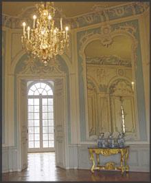 Spiegelkabinett von Schloss Falkenlust, Brühl